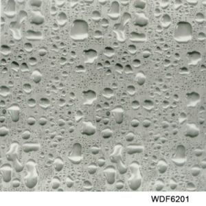Kingtop 1m Width Water Drops Pattern Hydrographic Film pictures & photos