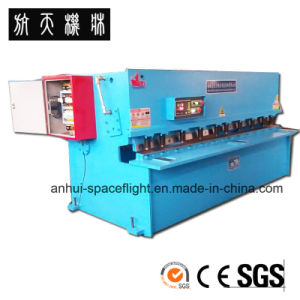 QC12Y-8X2000 Hydraulic Swing Beam Shearig Machine