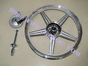 Yog Motorcycle Parts Rear Wheel Aluminum Rims Assy for Cg125 pictures & photos