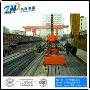 Steel Billet Lifting Magnet Suiting for Crane Installation MW22-14065L/1 pictures & photos