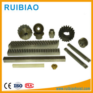 M3 30*10*1000 Spur C45# Steel Plastic PA6 Gear Rack pictures & photos