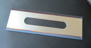 Slotted Blades Coated for Cutting Film pictures & photos