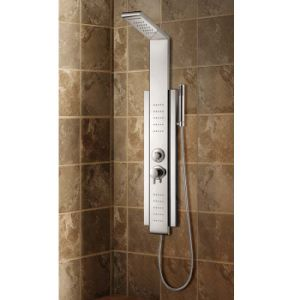 Stainless Steel Shower Column with Temperature Display pictures & photos