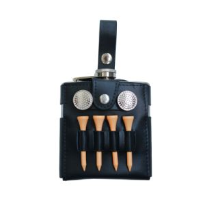 Golf Hip Flask Gift Set pictures & photos