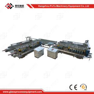 High Accuracy 9/10/11 Spindles/Motors Glass Polishing Machine pictures & photos