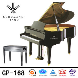 Schumann (GP-168) Black Grand Piano Self-Playing Piano pictures & photos