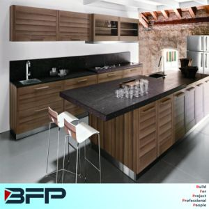 Kitchen Furniture for Small Kitchen, Wood Cabinet pictures & photos