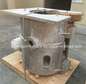 Iron Copper Steel Tin-Slag Induction Melting Furnace (GW-200KG) pictures & photos