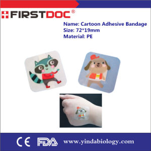 Cartoon Adhesive Bandage 38*38mm Plaster Bandage First Aid Bandage Band Aid Waterproof pictures & photos