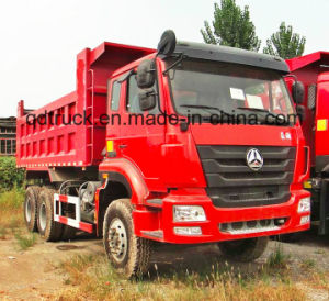 New Brand China HOWO 6X4 371HP Dump Truck (ZZ3257N3647B) pictures & photos