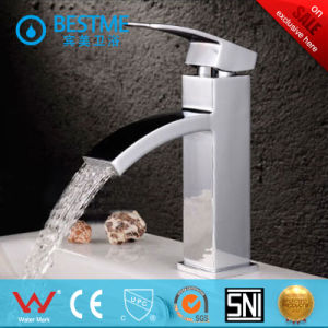 Brass Body Basin Faucet with Ceramic Valve Core (BM-A10044) pictures & photos