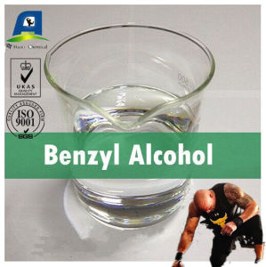 Safe Organic Solvents Benzyl Alcohol Clear Liquid Ba CAS 100-51-6 for Steroid Solvent pictures & photos