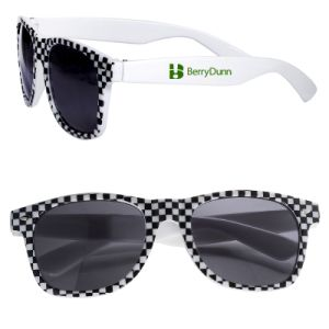 Checkered and Racing Theme Sunglasses (PM153) pictures & photos
