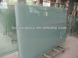 Custom Tempered Frosted Glass for Door Panels pictures & photos