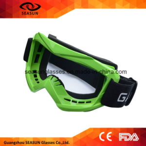 High Quality Color Lens Sport Racing off Road Motocross Goggles Glasses for Motorcycle Bike Ski Glasses pictures & photos