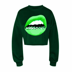 High Quality Fashion Sublimation Crewneck Sweatshirt for Girl (ELTHI-116) pictures & photos