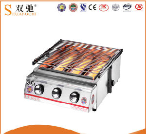 Outdoor BBQ Grill Charcoal BBQ Grill with Stainless Steel pictures & photos