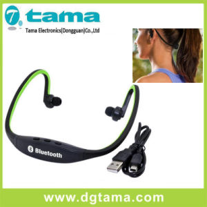 Neckband Bluetooth Stereo Headset Wireless Dual-Ear Headphone for Sports