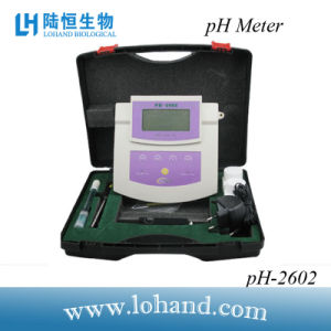 High Accuracy Bench Top pH Meter with Backlit (pH-2602) pictures & photos
