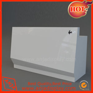 Clothes Shop Checkout Counter with Slatwall Hook pictures & photos