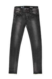 High Quality Lady′s Black Washing Wholesale Denim (MY-002) pictures & photos