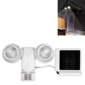 Solar Security Light with Adjustable Motion Sensor (P1501E)