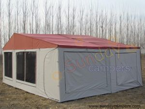 Ripstop Canvas Camper Trailer Tent (SC05) pictures & photos