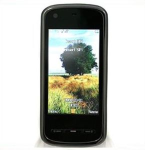 Quad Band Dual SIM TV Unlocked Cell Phone (5800)