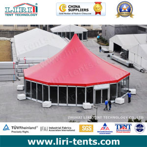 Aluminum Polygon Marquee with High Peak for Outdoor Events