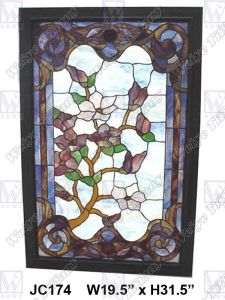 Stained Glass Panel (JC174)
