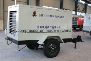 Screw Type Portable Air Compressor pictures & photos