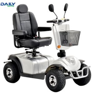 Big Strong Power 4 Wheels Mobility Scooter for Handicapped Dm801 pictures & photos