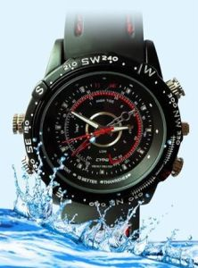High-Clear Waterproof Watch Video Camera (M989)