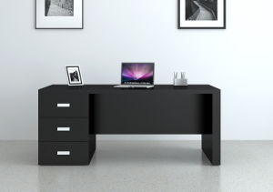Office Table, Small Table With Drawer Unit