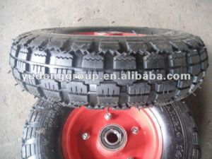 Rubber Wheel 410/3.50-4, Hand Trolley Wheel 3.50-4 pictures & photos