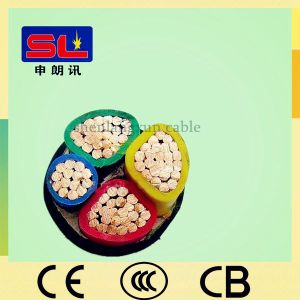 3+1 Cores PVC Insulated Un-Armoured PVC Sheathed Power Cable