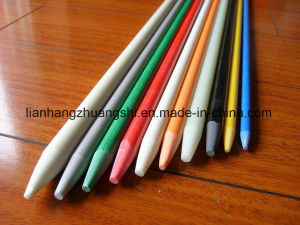 Pultruded Colourful Hollow Durable FRP Rod Fiberglass pictures & photos
