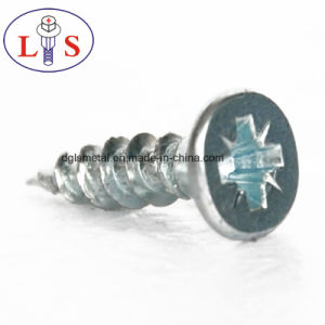 Hot Selling Carbon Steel Zinc Plated Csk Head Screws pictures & photos
