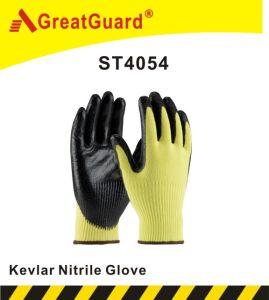 Supershield Cut Resistant Nitrile Glove (ST4054) pictures & photos