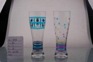 Handmade Beer Glass Cup with Printing