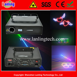 RGB Animation Stage Light 1.5W Ilda Text Laser Projector pictures & photos