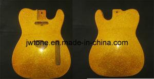 Custom Gold Grain Color Tele Body Guitar pictures & photos