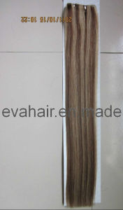 100% Indian Remy Hair Seamless PU Skin Weft pictures & photos