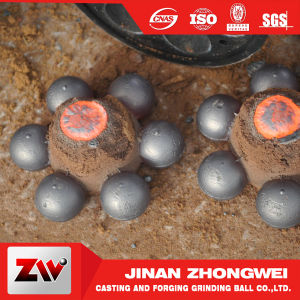 Gold Mining Special Use High Chrome Cast Grinding Ball pictures & photos