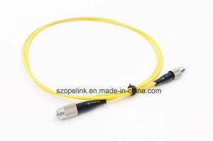 Fiber Optic Patchcord (Single Mode) FC-PC Black Boot pictures & photos