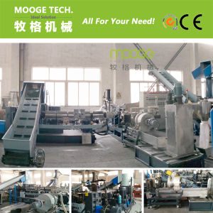 Water Ring Die Face Waste Plastic Granules Machine pictures & photos