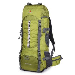 70L Camping Hiking Nylon Backpack Mountaineering Travel Rucksack Trekking Bag pictures & photos