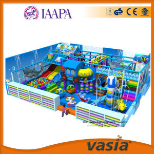 Sea World Childrent Plastic Equipment Indoor Playground for Mall pictures & photos