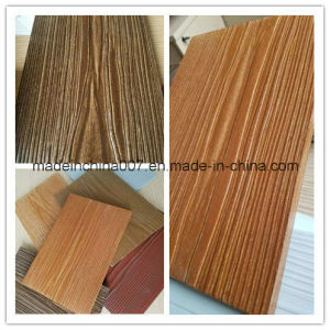 100% Non-Asbestos Wood Grain Fiber Cement Siding pictures & photos