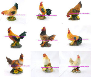 Polyresin Animal - Polyresin Rooster Garden Statue pictures & photos